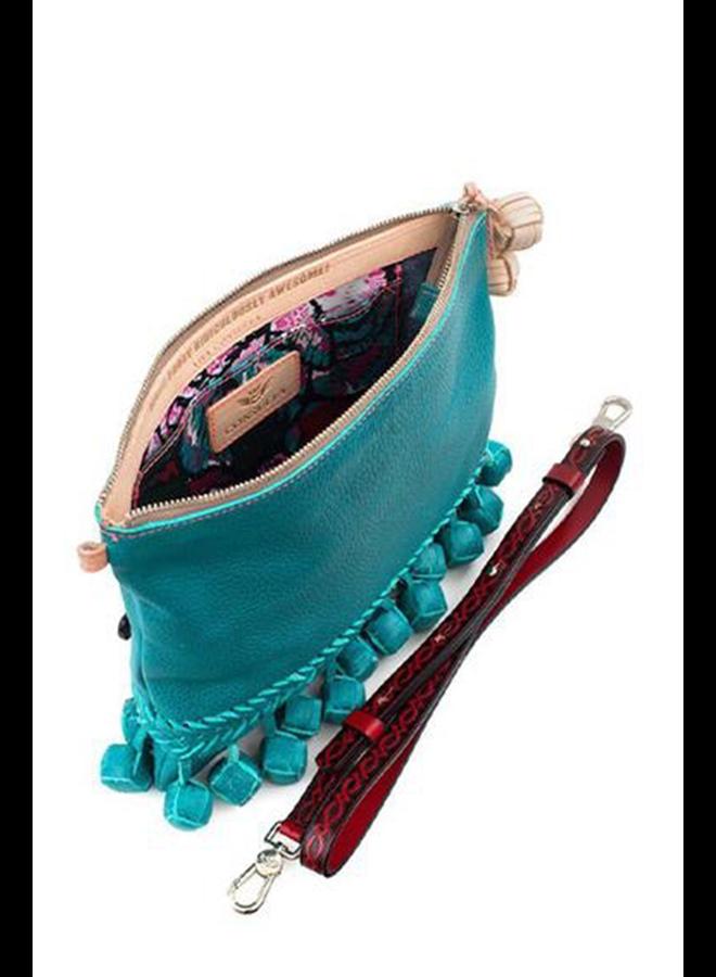 Consuela Fiesta Crossbody Frida In Guadalupe Turquoise