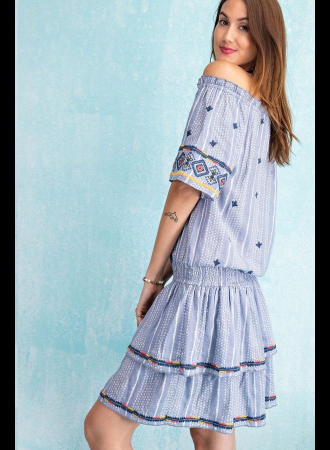 Super Cute Dress In Blue