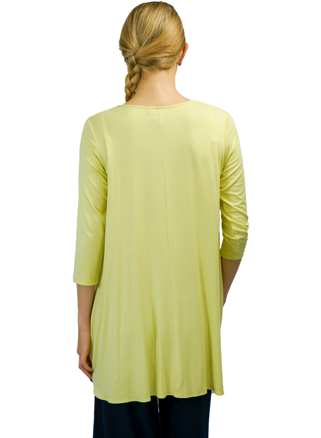 Comfy USA Eden Tunic In Sun