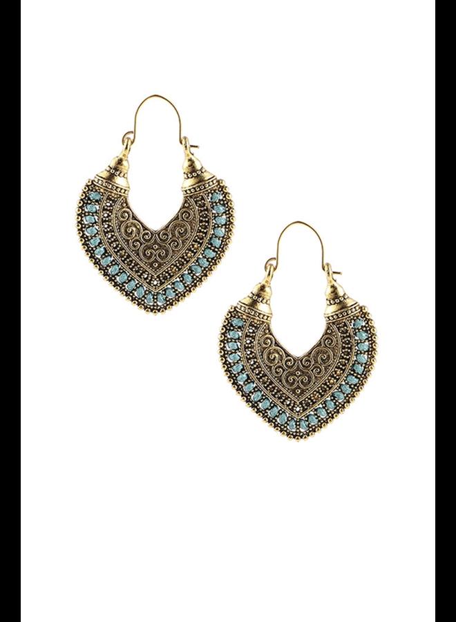 Casbah Turquoise Earrings
