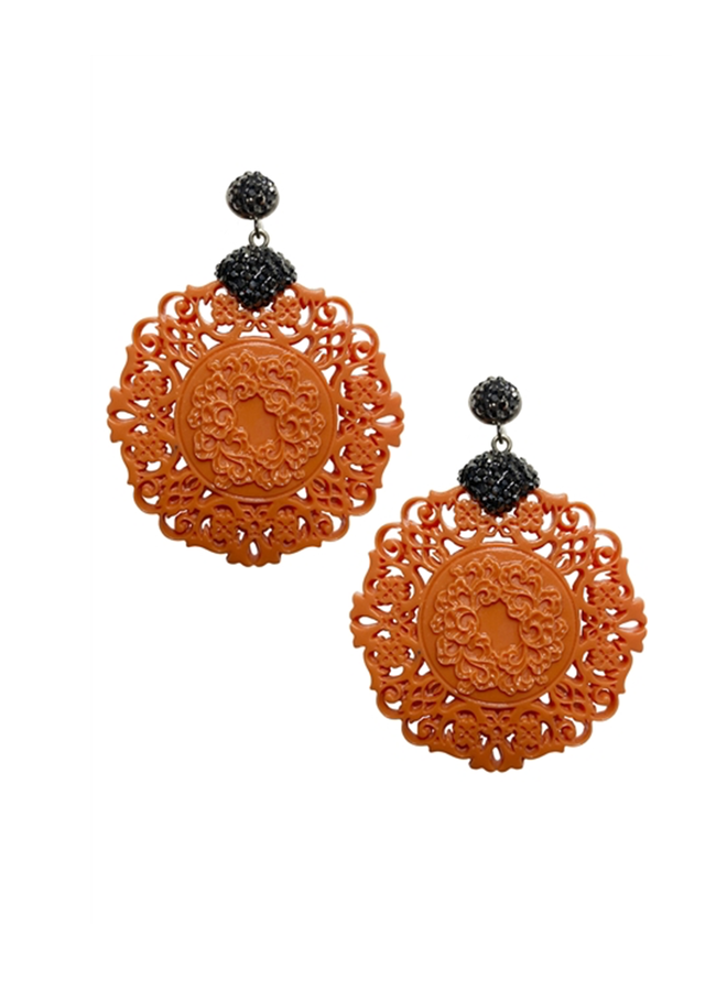Asian Ornament Earrings