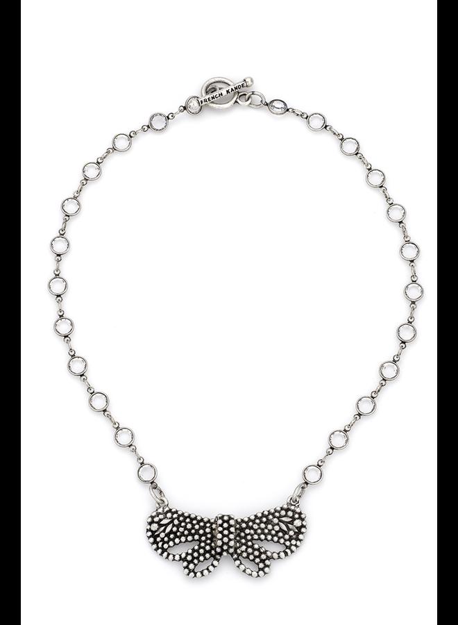 French Kande Swarovski Chanel Set & Papillon Pendant