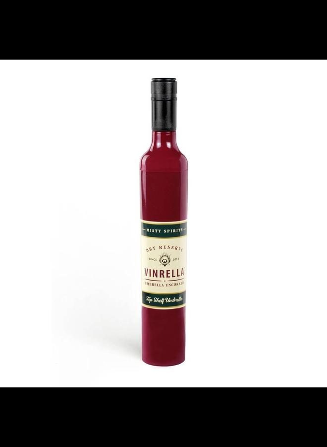 Vinrella Burgundy Wine Bottle Umbrella
