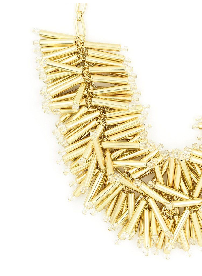 The Firecracker Necklace In Gold