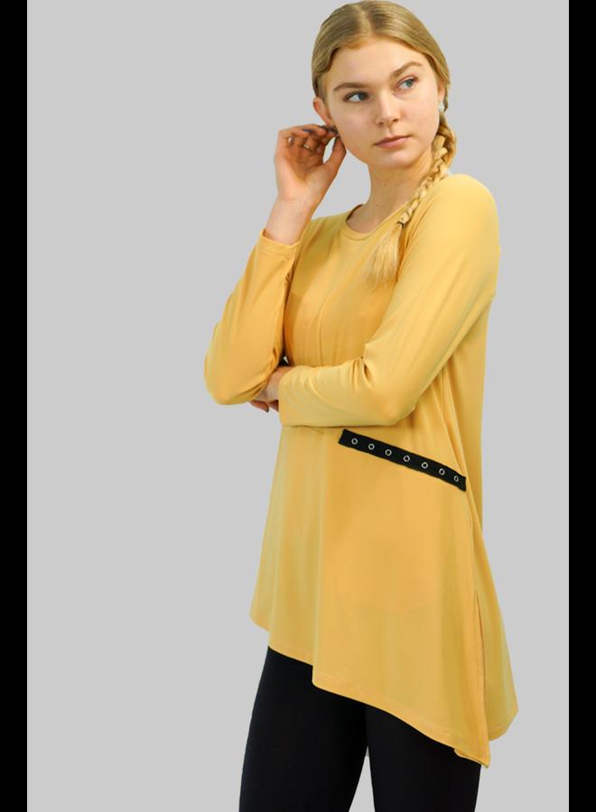 Comfy's Sun Kim Kenzo Tunic In Sunflower