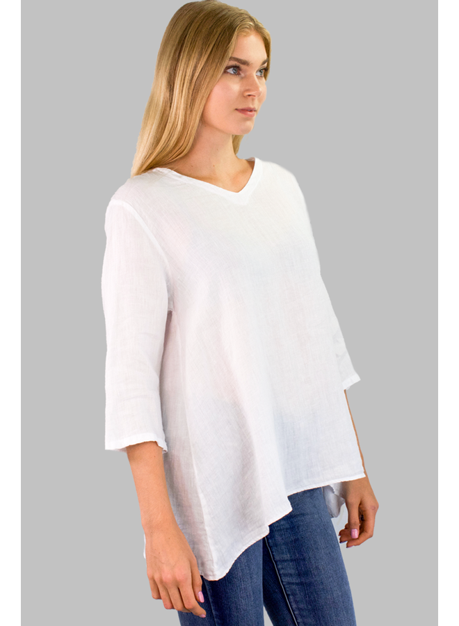 Match Point Favorite Top In White