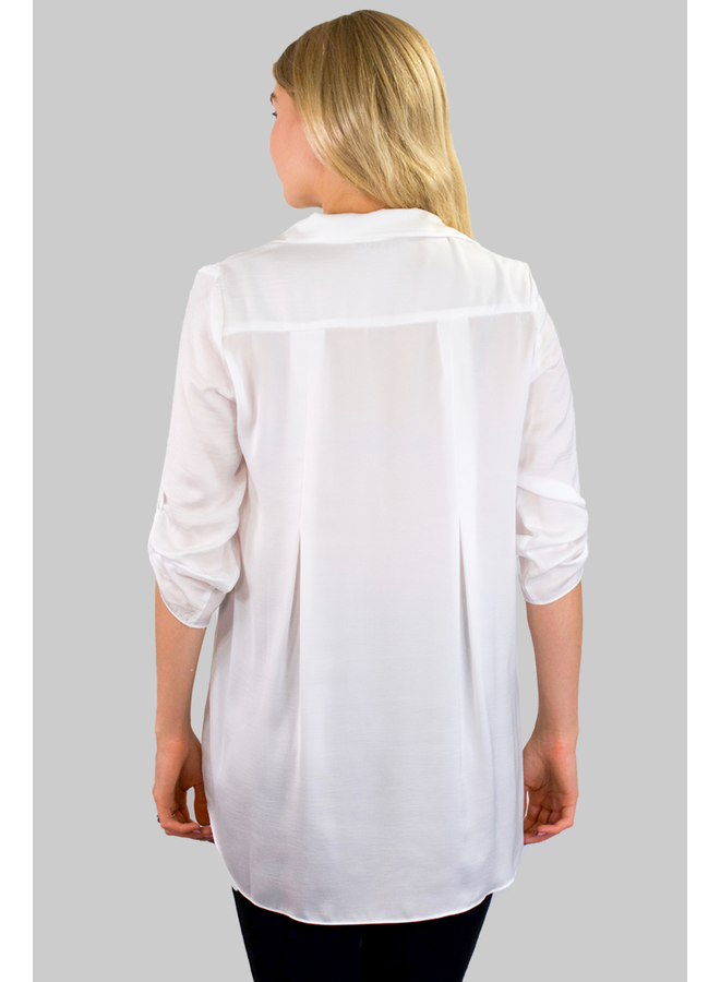 Soft And Beautiful Blouse In White