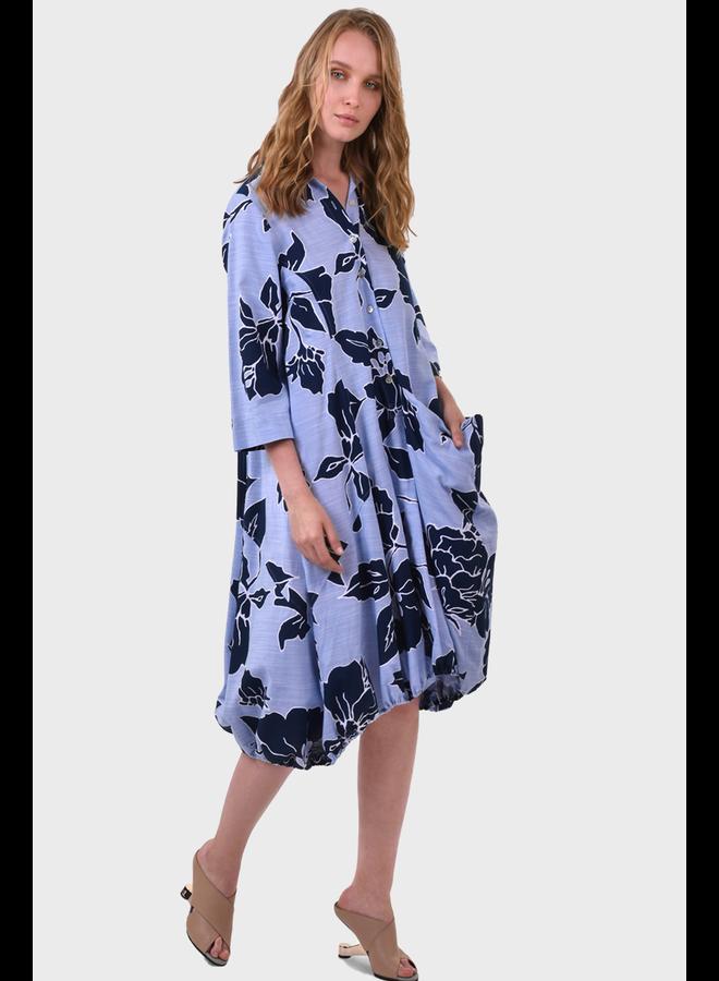 Alembika Island Print Wonderful Dress
