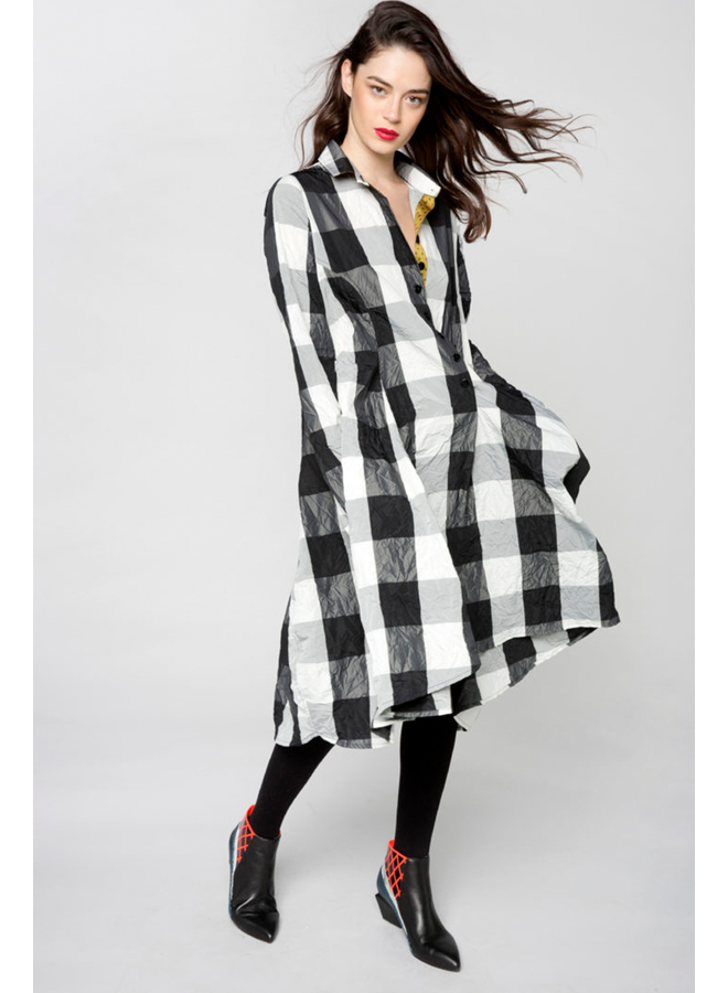 Alembika Giant Check Dress