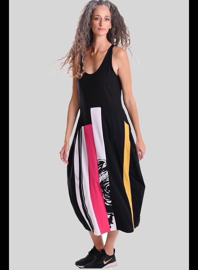 Alembika Tekbika Color Block Dress