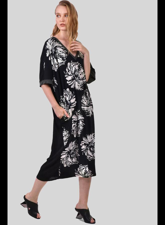 Alembika Dahila Print Caftan Dress