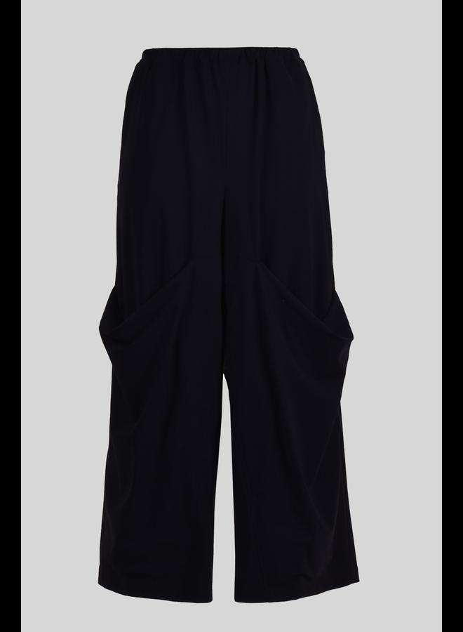 Alembika Scoop Pocket Pant In Black