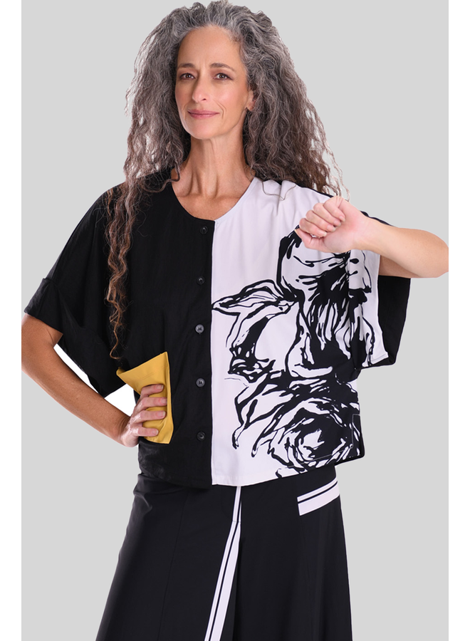 Alembika Tekbika Floral Print Cardigan