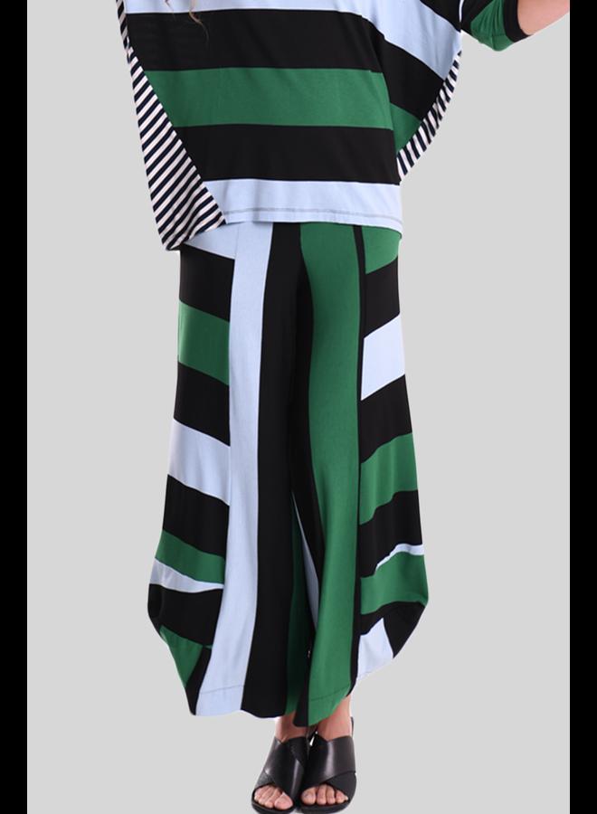 Alembika Wide Striped Punto Pant
