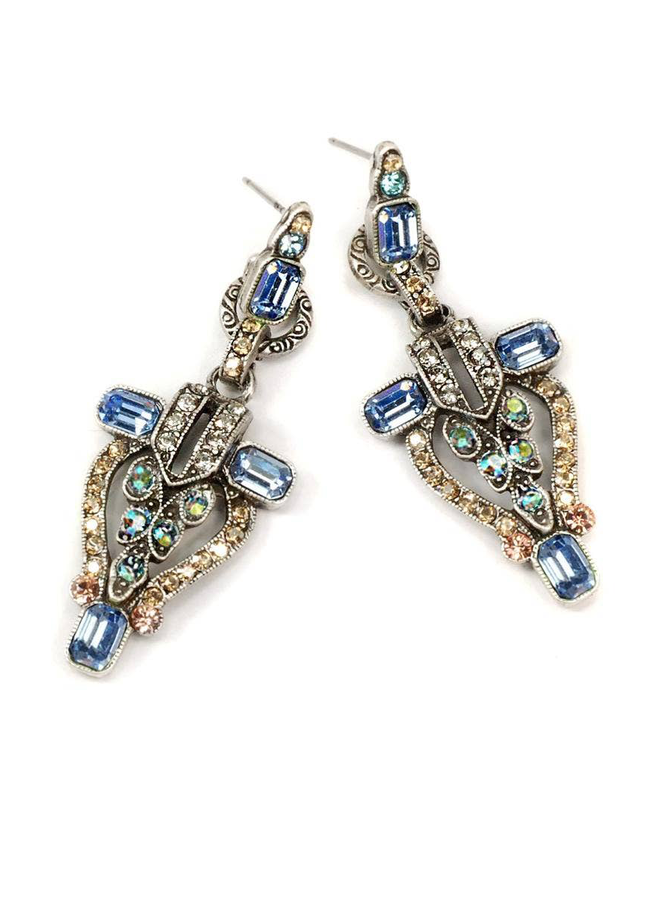 Sweet Romance Art Deco NYC Vintage Earrings