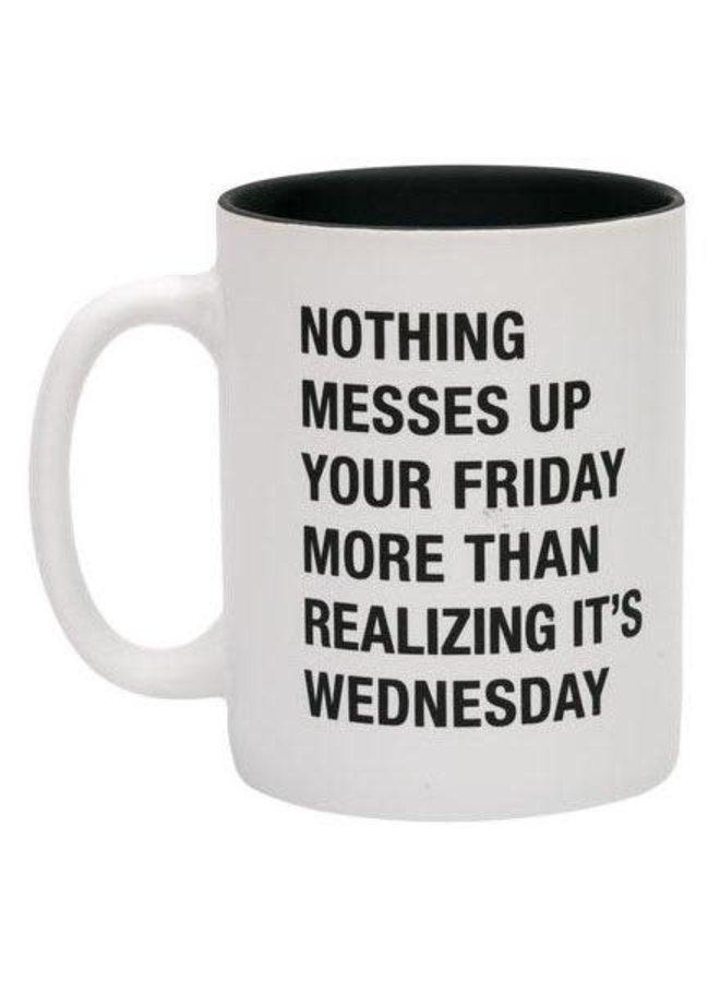 Realizing It's Wednesday Mug