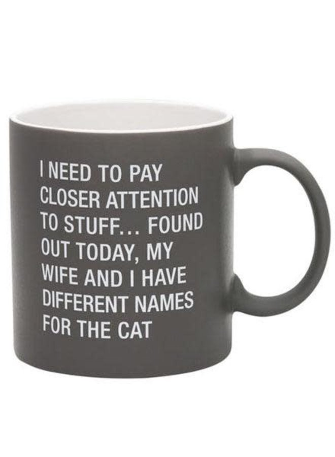 Different Names For The Cat Mug