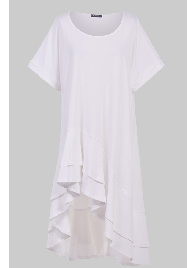 Alembika High Low Tunic In White