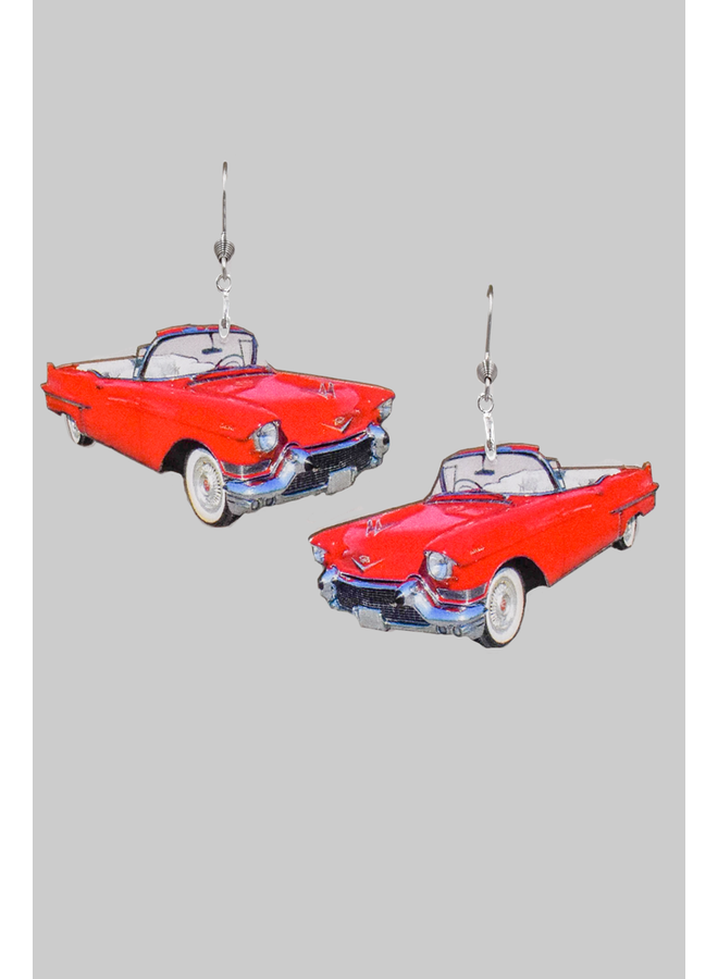 Vintage Car Earrings