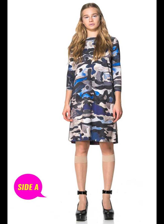 Animapop Reversible Fancy Camo Dress