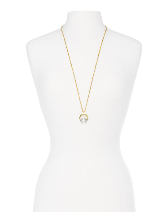 Jammin' Out Necklace In Gold