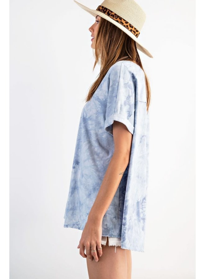 Smooth Tie Dye Top