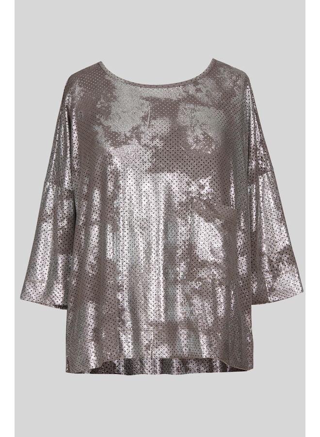 Alembika Preforated Top In Silver