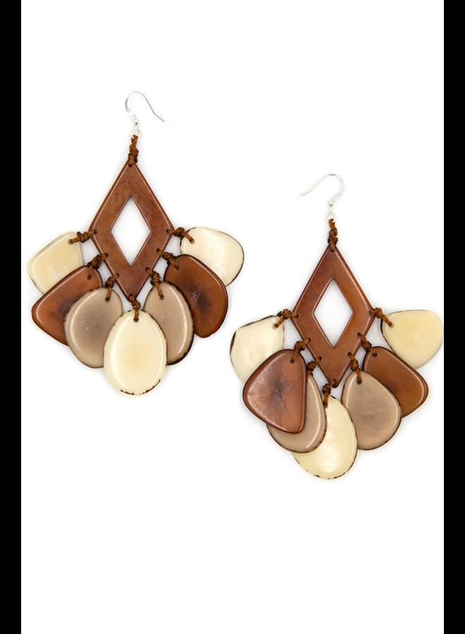 Tagua Mystique Earring
