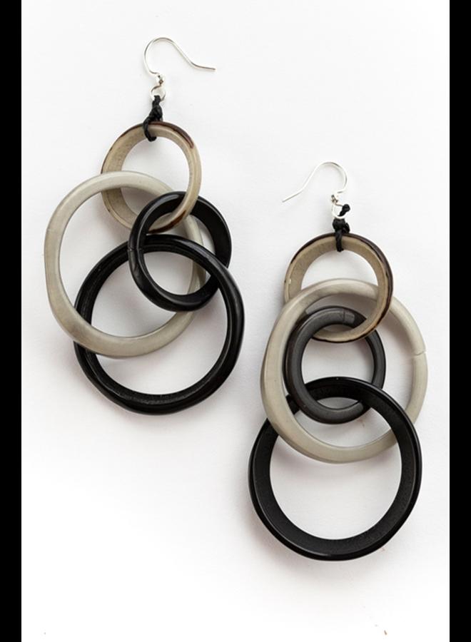 Tagua Yazmine Earrings