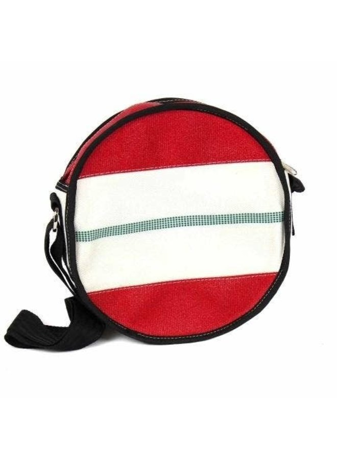 Fire Hose Round Shoulder Bag