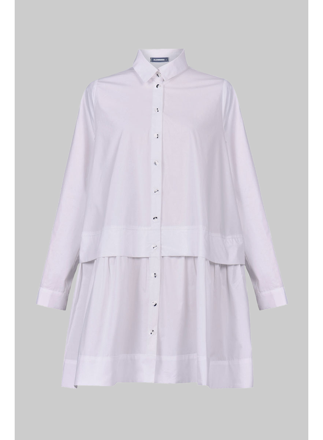 Alembika Big Shirt In White