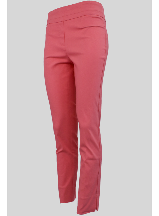The Ankle Cigarette Magic Pant In Coral