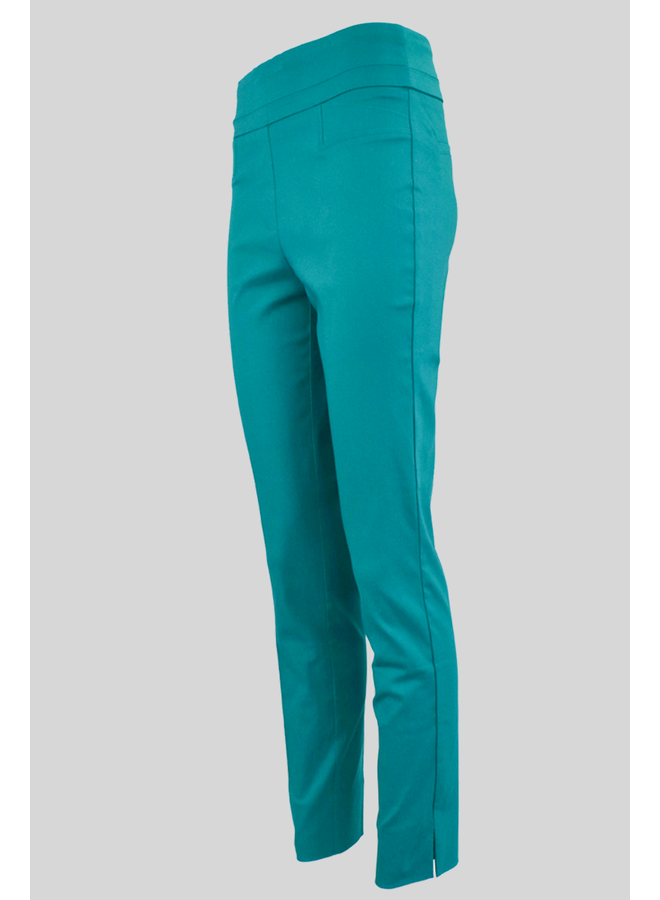 The Ankle Cigarette Magic Pant In New Aqua