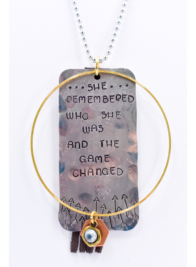 The Gamechanger Necklace