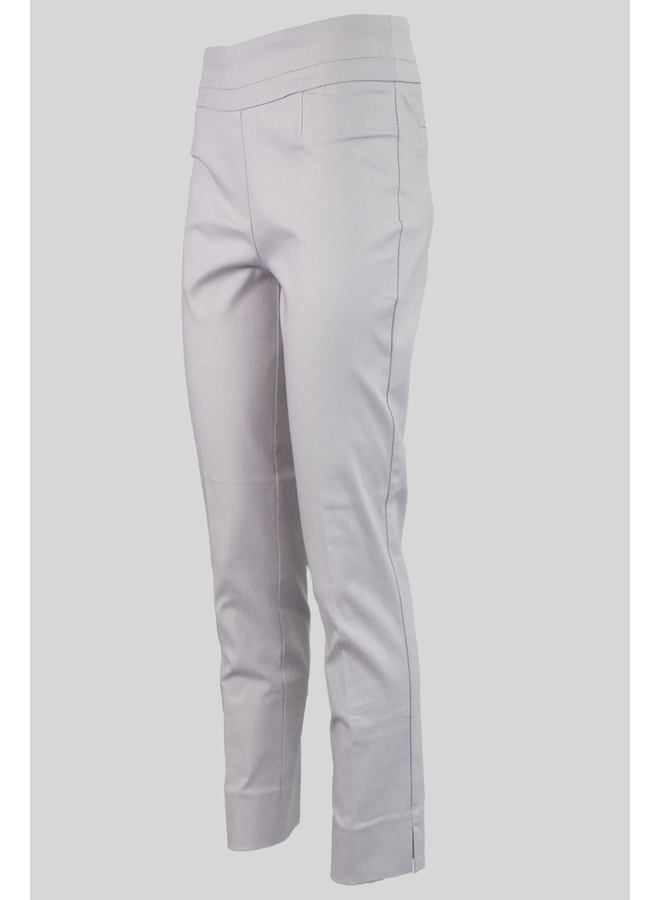 The Ankle Cigarette Magic Pant In Silver