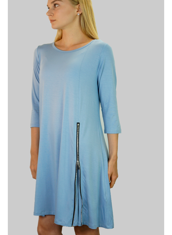 Comfy's Milan Dress In Capri Blue
