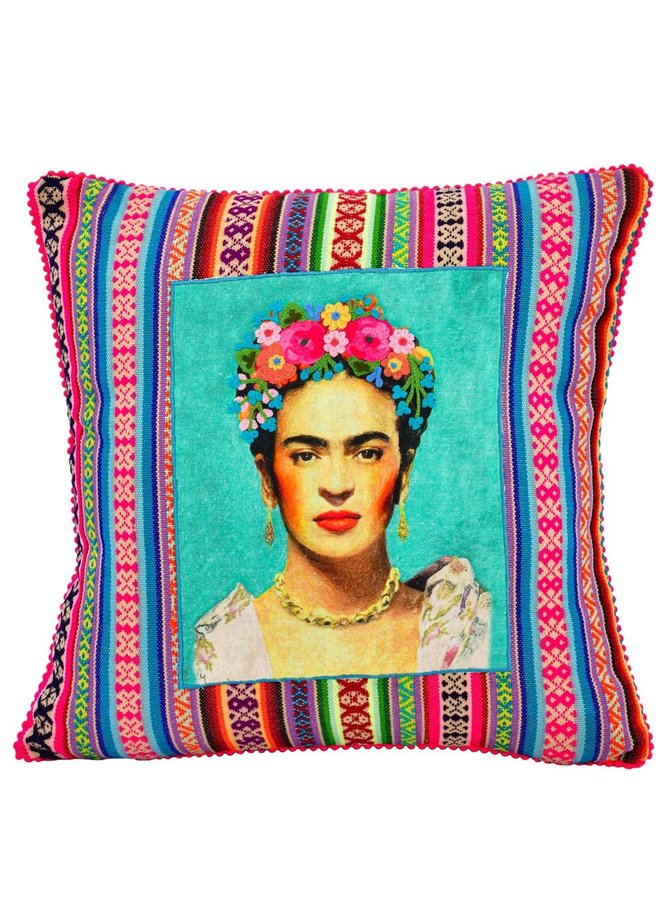 Karma Living's Patched Frida Pillow