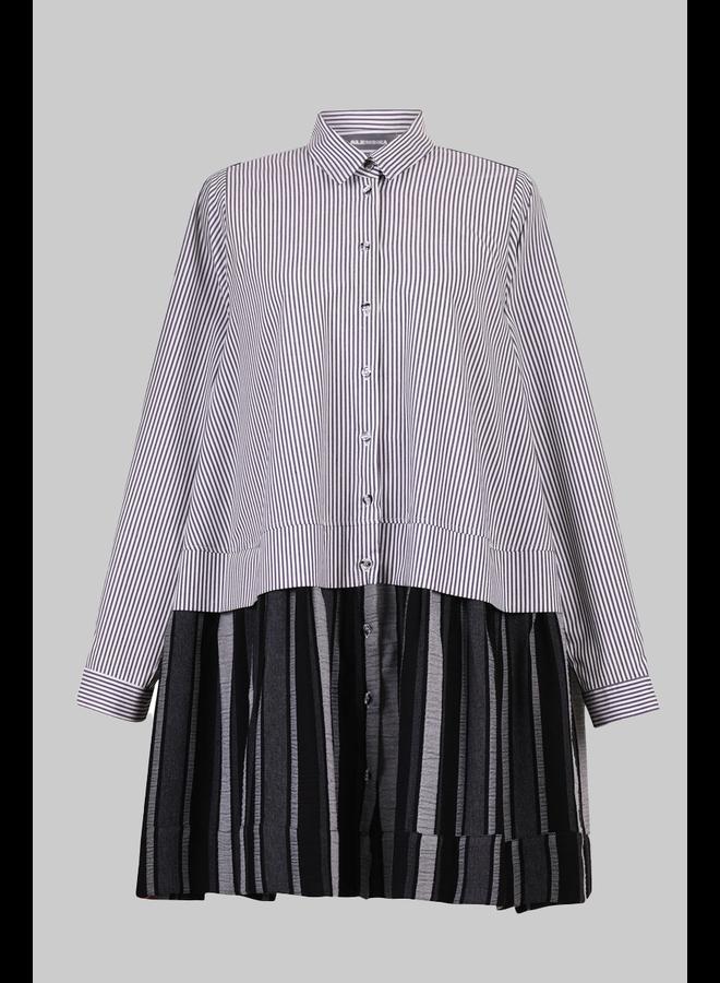 Alembika Stripe Big Shirt