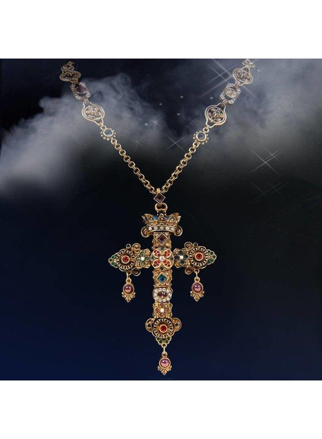 Sweet Romance Gothic Jewel Cross