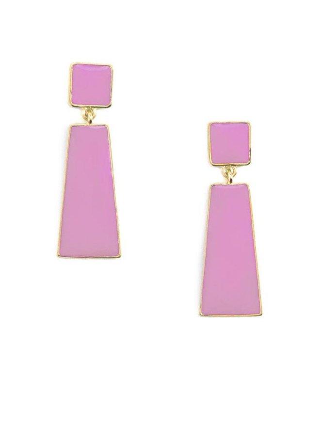 Hue Go Girl Earrings In Lavender