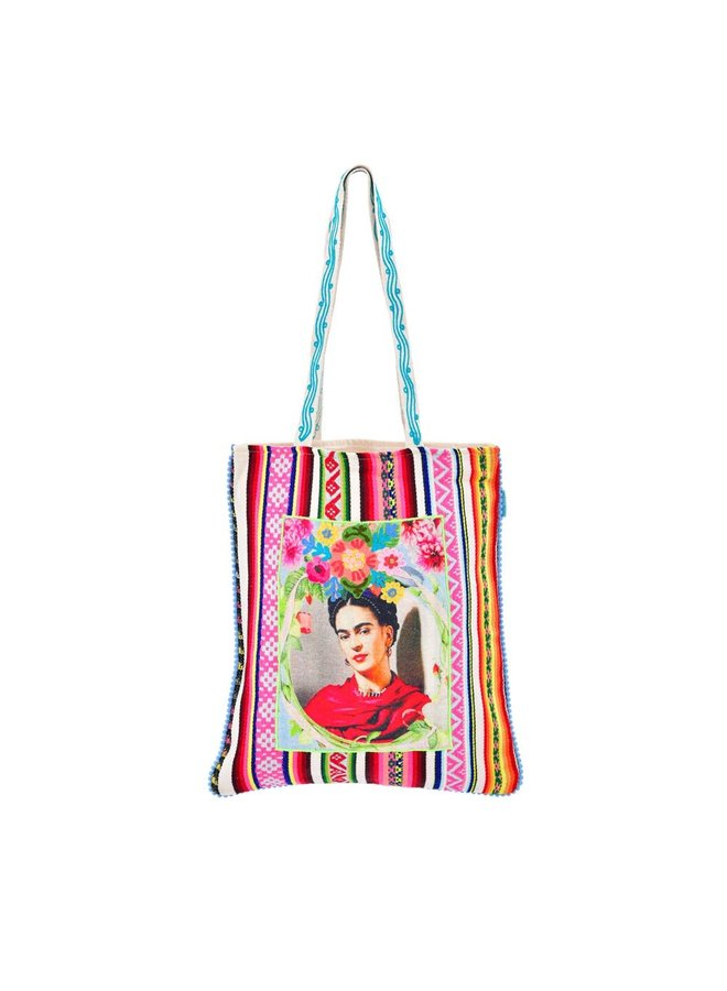 Karma Living's Roses For Frida Tote