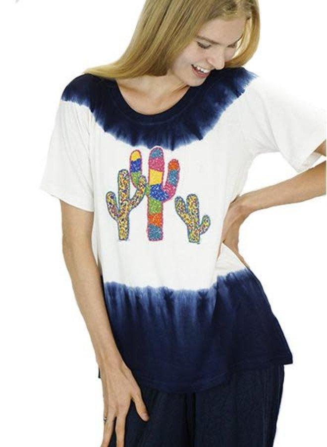 Tye Dye Cacti Top