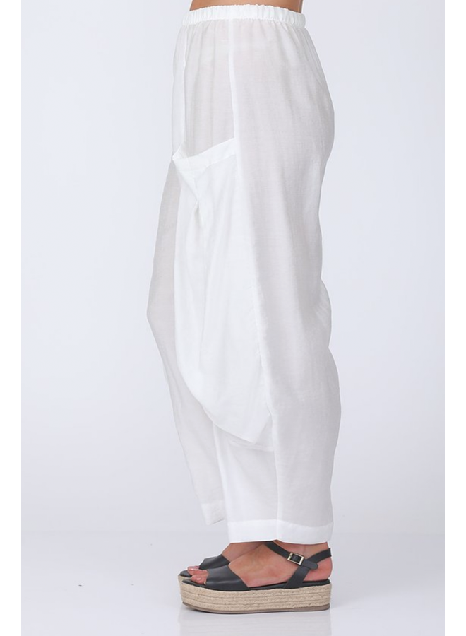 Chalet Simona Pant In White