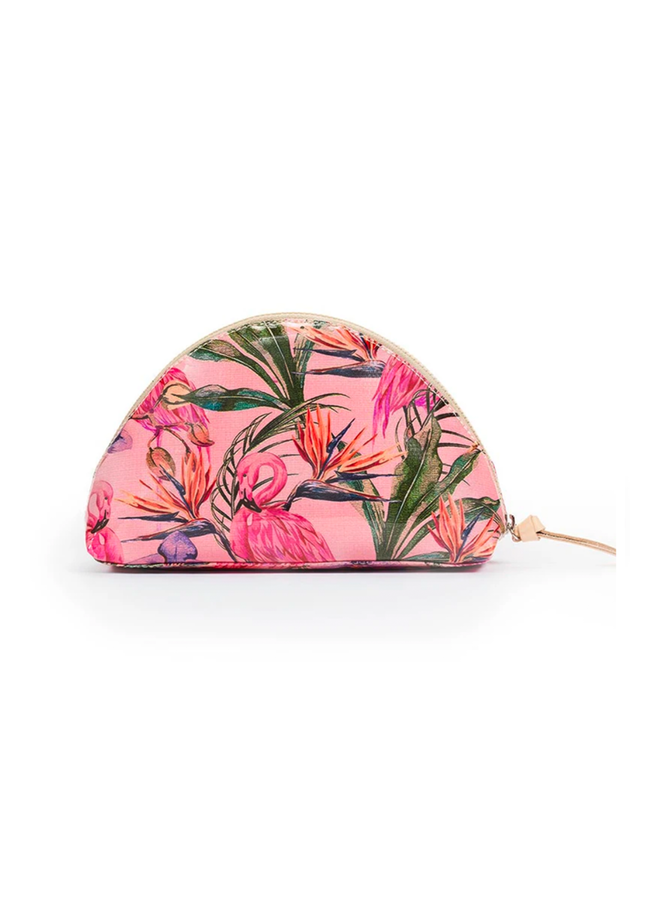 Consuela Medium Cosmetic Bag In Brynn Flamingo