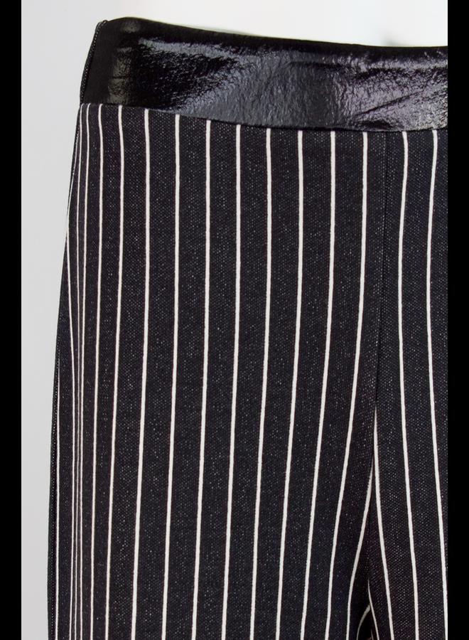 Ozai Stripe Crowfoot Trowsers