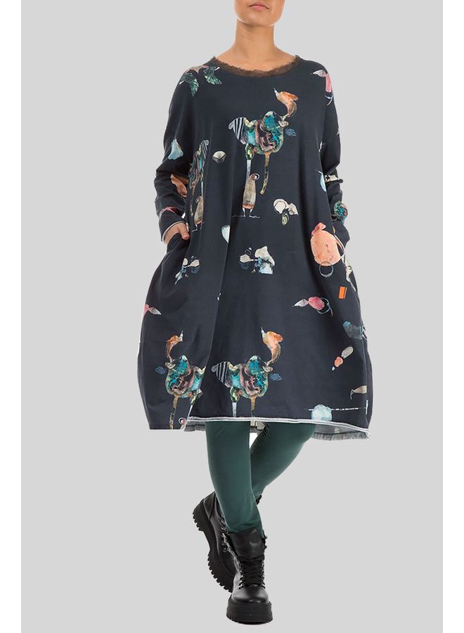 Griza Midi Fairy Tale Dress