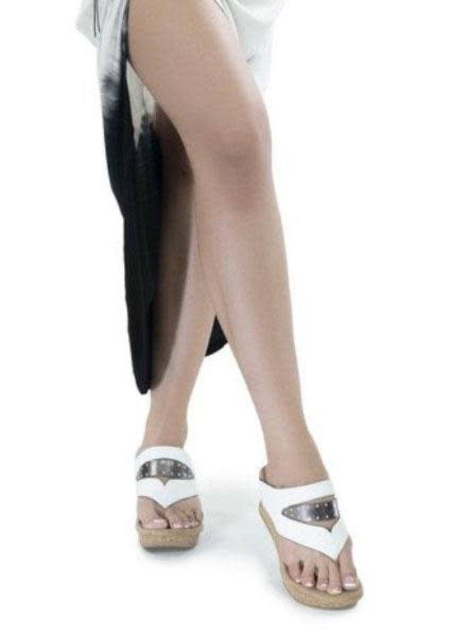 Reversible Bianca Shoe In Navy & White