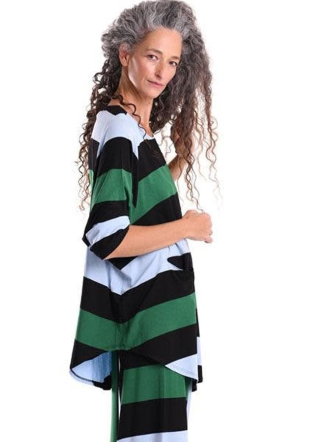 Alembika Wide Striped Tunic
