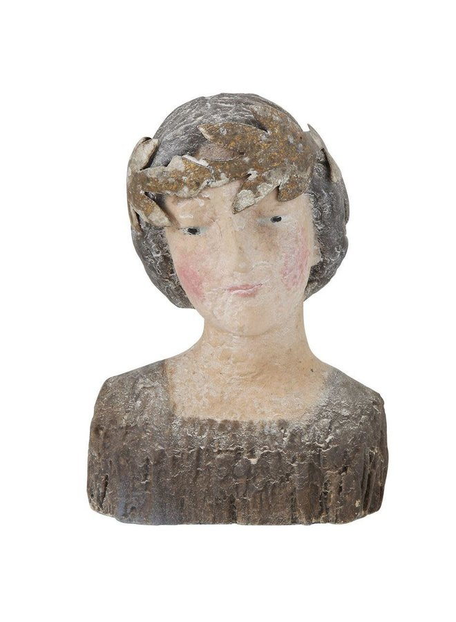 Reproduction Vintage Bust With Removable Crown