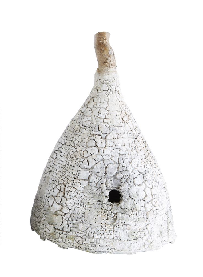 """15 1/4"""" Woven Bee Skep"""